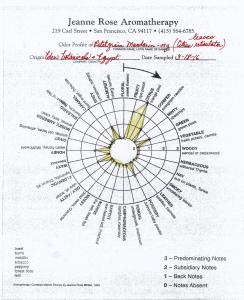 Petitgrain Vocabulary of Odor