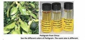 Petitgrain-oils